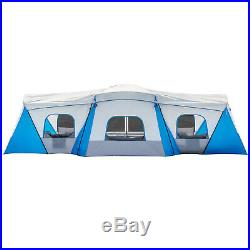 Ozark Trail 16-Person 3-Room Family Cabin Tent with 3 Entrances 230 square feet