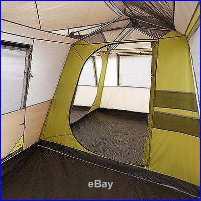 Ozark Trail 16' x 16' Instant Cabin Tent, Sleeps 12, Brown