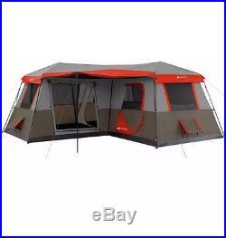 Ozark Trail 16x16-Feet 12-Person 3 Room Instant Cabin Tent
