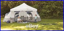 Ozark Trail 8-Person 10 x 10 ft Camping Tent Waterproof Tarp Shelter Heavy Duty