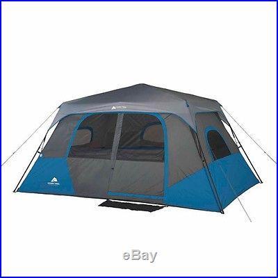 ozark trail 8 person 2 room instant cabin tent small