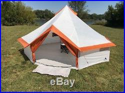 Ozark Trail 8 Person Large Yurt Tent Family Camping Outdoor Hiking Easy Setup