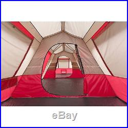 Ozark Trail Instant Cabin Tent 3 Room 15 Person Family Camping Extra-Tall