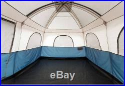 Ozark Trail Large Cabin Tent 10 Person 14x10 Camping Hunting Outdoor Hiking