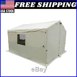 Ozark Trail North Fork 12' x 10' Wall Tent with Stove Jack Wall Tent New Camping