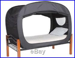 POP UP BED TENT / PRIVACY ROOM TENT TWIN Size (BLACK)(FREE SHIPPING)