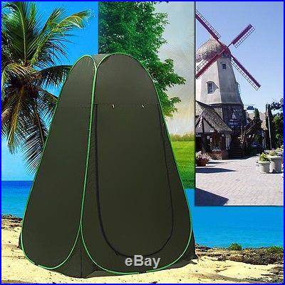 Pop Up Dressing Changing Room Toilet Shower Beach Privacy Camping Hiking Tent