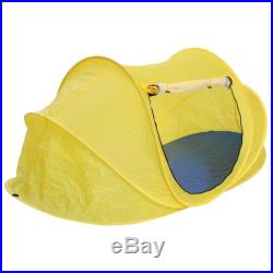 Popup Beach Tent Portable Foldable Outdoor Hiking Travel Camping Shelter Yellow