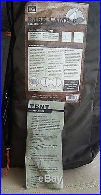 REI Base Camp 6 Tent New unused Condition
