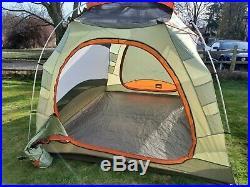 REI Hobitat 6 Three Season Tent, Rain Fly, Attic, Footprint, Stakes, Poles