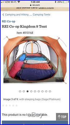 REI Kingdom 8 Tent with Footprint
