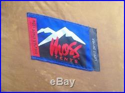 Rare Moss Tent Little Dipper Four Season Mountaineering Tent Good Condition