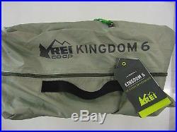 Rei Kingdom 6 3 Season 6 Person Tent 120L x 100W x 75H Willow /Alpaca NEW