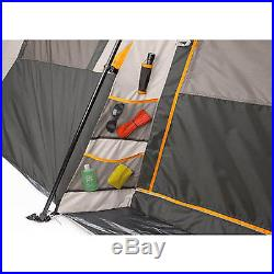 River Camping 12 Person Large Instant Tent 18' x 11' Fishing Family Cabin Canopy