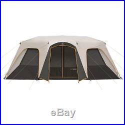 River Camping 12 Person Large Instant Tent 18' x 11' Fishing Family Cabin Hiking