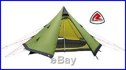 Robens GREEN CONE 4 Person Tipi Tent Lightweight teepee, bivvy, bivouac
