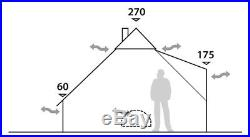 Robens KLONDIKE 6 Person Tipi Tent 2018 Model