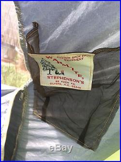 STEHPENSON's WARMLITE TENT 2.5LBS 2-person 4-Season CUSTOM MADE UL SHELTER