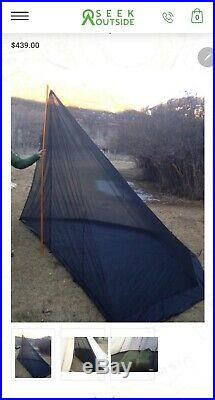 Seek Outside 6 Person Tipi Hot Tent Combo Withoptional Half Nest screen tent