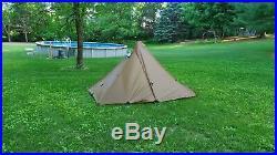 Seek Outside Lbo base/ vestibule tent, titanium sxl woodstove