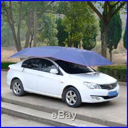 Semi-automatic Auto Car Umbrella Tent Remote Control Operated Waterproof Anti UV