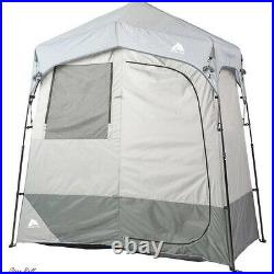 Shower Tent Camping Portable Privacy Shelter 2 Room Outdoor Utility Cabana New