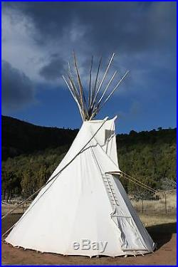 Sioux Style Backyard Tipi/Teepee 10ft. Sunforger Canvas