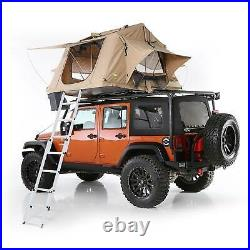 Smittybilt 2783 Roof Top Camping Folded Tent with Ladder, Coyote Tan (Used)