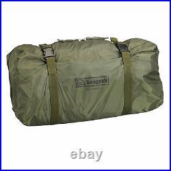 Snugpak Cave 4 Person Tent, Waterproof, Olive