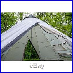 Tahoe Gear Bighorn XL 12-Person 18' x 18' Teepee Cone Tent (Open Box)