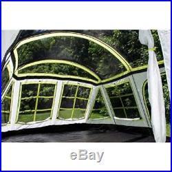 Tahoe Gear Glacier 14 Person 3-Season Family Cabin Camping Tent (Open Box)