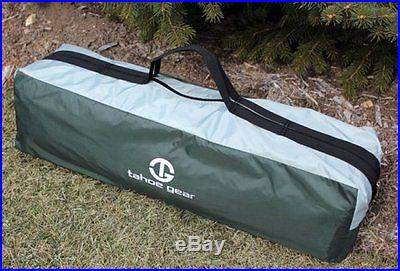 Tahoe Gear Olympic 10-Person Three Season Family Camping Cabin Tent