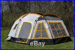 Tahoe Gear Ozark 3-Season 16 Person Large Family Cabin Tent