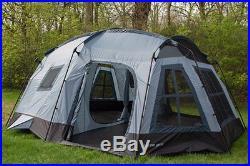 Tahoe Gear Ozark 3-Season 16 Person Large Family Cabin Tent (Open Box)