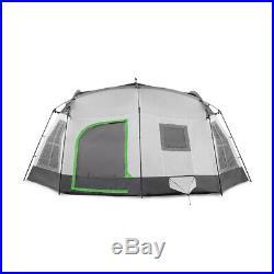 Tahoe Gear Ozark TGT-OZARK-16-C 16 Person 3 Season Family Cabin Tent, Beige