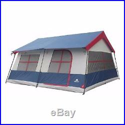 Tent Camping Family Outdoor Cabin Shelter 14 Person Large 3 Room Portable Hiking
