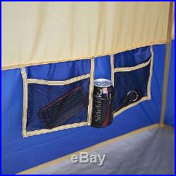 Tent Camping Outdoor Shelter Cabin Hiking Home Family Camp Gear Window Fishing