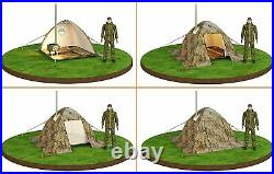 Tent with Stove Jack Hot Tent in Cold Weather Outfitter Tent with Hole Pipe Vent