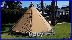 Tentipi Safir 9 4-season bug-proof family tent NEW