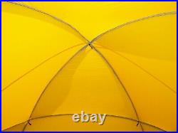 The North Face VE24 VE 24 Tent Expedition Geodesic Dome Yellow Nice