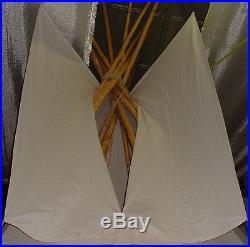 Tipi Indianerzelt Indianertipi Sioux Tipi Zelt Ø 4 m