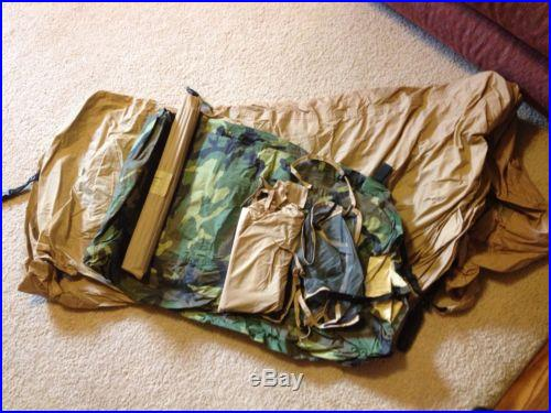 USMC Issued Diamond Brand 2 Man Combat Tent-Camo