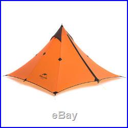 Ultralight 1 Person Tent Double Layer Tent Camping Hiking Waterproof Equipment