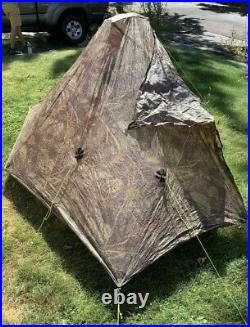 Used Zpacks Plexamid Tent Camo