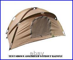 Usmc 2-man Combat Tent Complete Shelter System Us Military Eureka! Diamond
