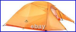 VINQLIQ 3 Person 4 Season Ultralight Double Layer Backpacking Tent Weatherproof