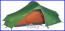 Vango Nevis 100 1 Person Lightweight Hiking Tent Pamir Green