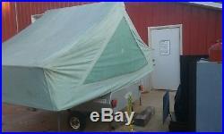 Vintage 1969 Appleby tent trailer, tiny