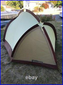 Vintage Bill Moss Olympic 3 Person Tent (Made In Camden, Maine)