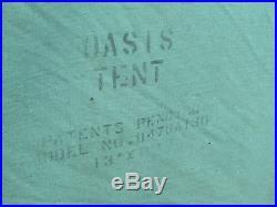 Vintage Coleman 13x10 Canvas Oasis Tent Model 8476A130